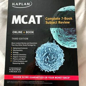 Kaplan MCAT Complete 7-Book Subject Review - 3rd e
